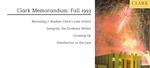Clark Memorandum: Fall 1993 by J. Reuben Clark Law School