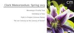 Clark Memorandum: Spring 2013 by J. Reuben Clark Law School