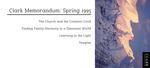 Clark Memorandum: Spring 1995 by J. Reuben Clark Law School