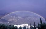 Rainbow over the Law School
