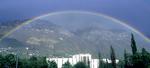Rainbow over the JRCB